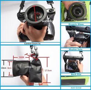 Details about DSLR SLR Camera Underwater Housing Case for Canon 5D Mark III  7D Nikon D750