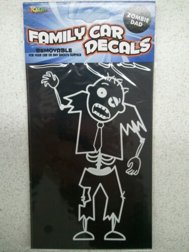 Window Choice of DAD Family Car Locker Cling Decals Military Zombie Hippie