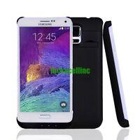 Samsung Galaxy Note 4 3800mAh External Battery Backup Power Bank Charger Case