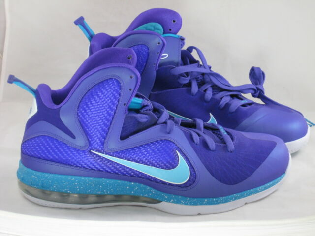 d89eab995d9b6 Nike Lebron 9 Summit Lake Hornets Size 7 for sale online