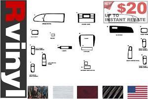 Rdash Dash Kit for Honda Odyssey 1995-1998 /& More Auto Interior Decal Trim