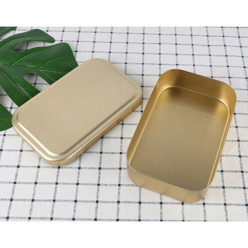 Lunch Box Bento Heated Food Aluminum Storage Container Metal Tiffin Picnic