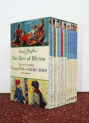 Best of Blyton 10 Copy Slipcase (1-5 FF / 1-5 SS), Blyton, Enid, Excellent Book