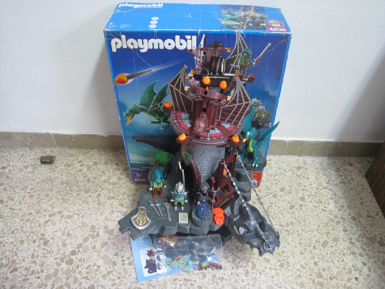 Playmobil - Medieval - Torre con Mazmorra del Dragon - 4836 - (COMPLETO) OVP
