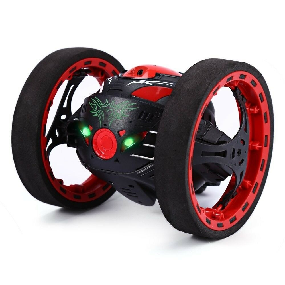 Excellent 2.4GHz Wireless Remote Control Jumping RC Toy Bounce Cars Robot Toys F