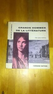 Jean-Portail-Grands-hommes-de-la-litterature-Fernand-Nathan-1967-dedicace