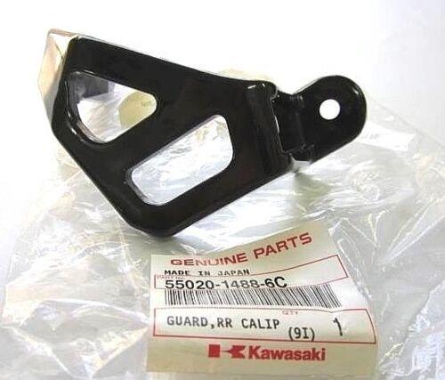KAWASAKI REAR CALIPER GUARD KX125 KX250 KX500 KDX200 KDX200R KLX300R KDX220R