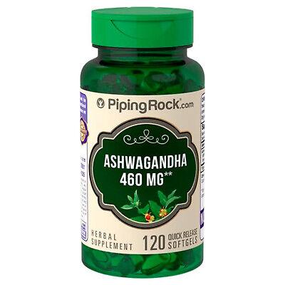 Raíz De Ashwagandha 460 Mg 120 Cápsulas