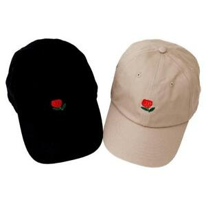 Image is loading The-Hundreds-Dad-Hat-Flower-Rose-Embroidered-Curved- 12568baaa19
