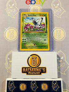 Butterfree-33-64-1st-Edition-NM-Near-Mint-Jungle-Set-Non-Holo-Pokemon-Card