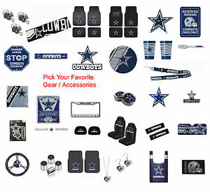low priced fcca8 61701 Details about New NFL Dallas Cowboys Pick Your Gear / Automotive  Accessories Official Licensed