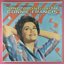 Brylcreem Presents Sing Along With Connie Francis - Mati Mor 8002 Ex Condition