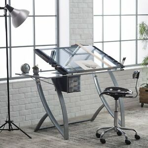 Image Is Loading Studio Designs Futura Advanced Drafting Table With Side