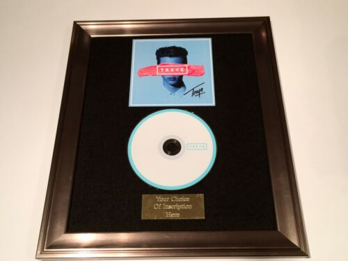 TRXYE FRAMED CD PRESENTATION PERSONALLY SIGNED//AUTOGRAPHED TROYE SIVAN