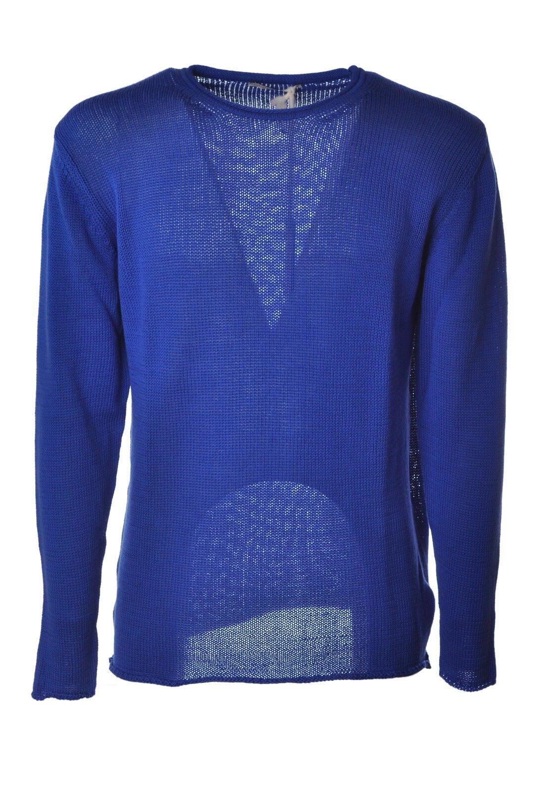 Daniele Alessandrini  -  Sweaters - Male - Blau - 3816829A181156