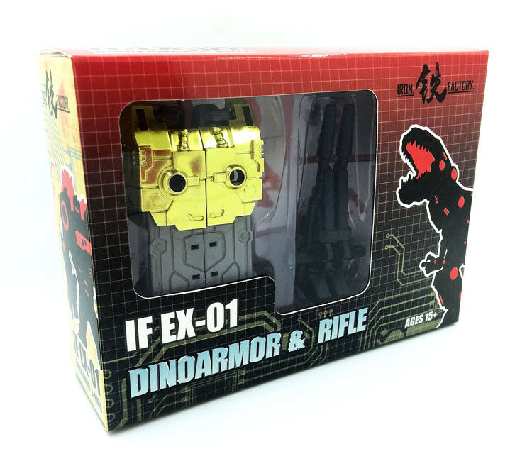 [Toys Hero] In Hand Transformers IronFactory IF-EX01G Dinoarmor Upgrade Kit