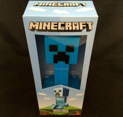 MineCraft Charged Creeper Large 8 Inch Figure By Mattel Brand New Boxed