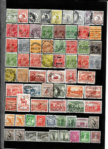 World-Lots-Collection-Timbres-Stamps-Oceania-Australia