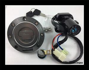 Kit-Contacteur-Neiman-Cle-bouchon-Serrure-de-selle-Yamaha-YZF-R1-R6-FZ6-FJR