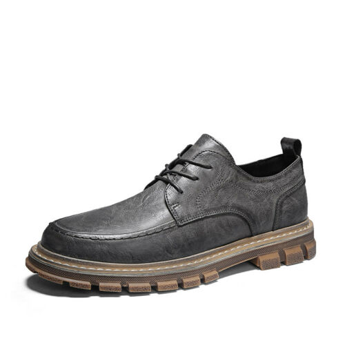 New Men/'s Wedding Casual Round Toe Leather Dress Formal Office Business Shoes