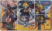 Future Card Buddyfight Drum's Adventures Brave Rubber Playmat From Booster Case