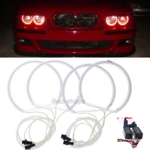 E46 Angel Halo Ccfl About Halogen Red Details Kit Bmw Non Eye Headlight Rings Projector For rxodeQCEBW