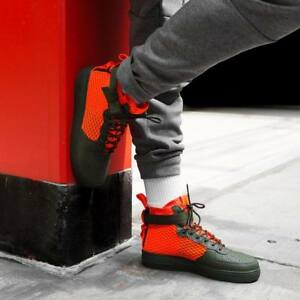 1 300 40 Sf Qs zapatos Mid Gr hombres para Nuevo Aa7345 Nike Air Force 16qwTtOxv