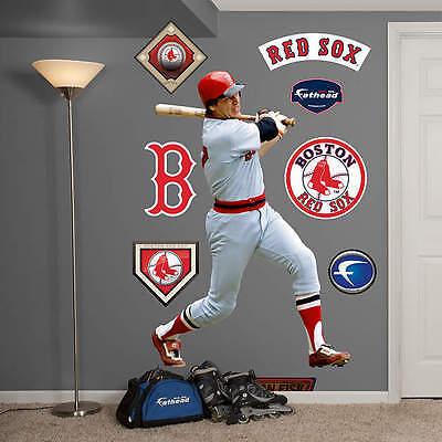 """GüNstiger Verkauf Carlton Fisk Rot Sox 49 """" B X 71 """" H Fathead Echt Groß Lebensgröße Wand Für Von Der Konsumierenden öFfentlichkeit Hoch Gelobt Und GeschäTzt Zu Werden Baseball & Softball Sport"""