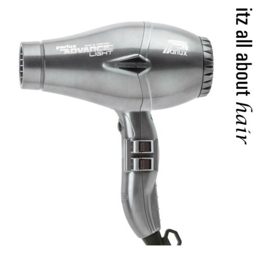 Parlux Advance Light Ceramic and Ionic Hair Dryer Charc 2 year Warranty W460g