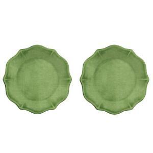Epicurean Amazon Green 24cm Melamine Side Plates Set of 8