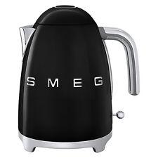 Smeg kettle, 50's Retro style Pale Black Smeg KLF11