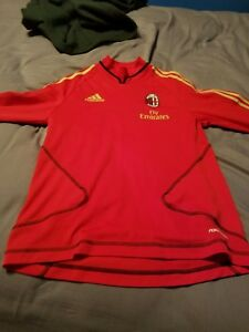 262c5fa6e79 AC Milan ACM Fly Emirates Adidas ClimaCool Soccer Jersey ~ Small ...