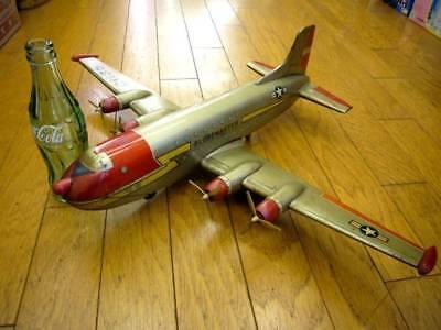 Spielzeug Gehorsam Vintage Yonezawa Reibung Propeller Maschine Handschuh Master Blech Spielzeug 46 Blechspielzeug