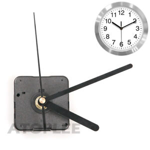 Black-Wall-Clock-Quartz-Movement-DIY-Mechanism-Battery-Operated-Motor-amp-Fittings