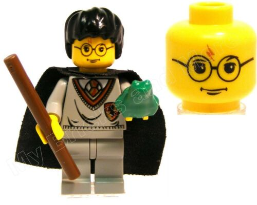 Lego Harry Potter Minifigure 4702 4704 4730 with Wand /& Frog 100/% REAL