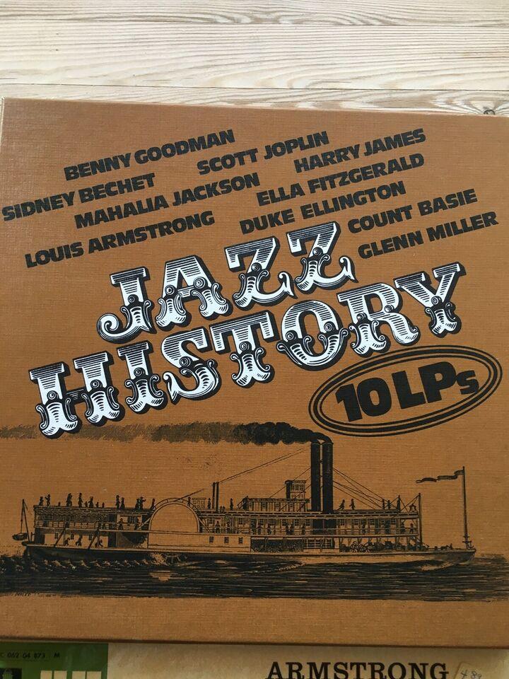 LP, Louis Armstrong, Duke Ellington