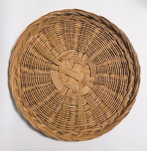 Vintage Boho Basket Wall Wicker Basket Wall