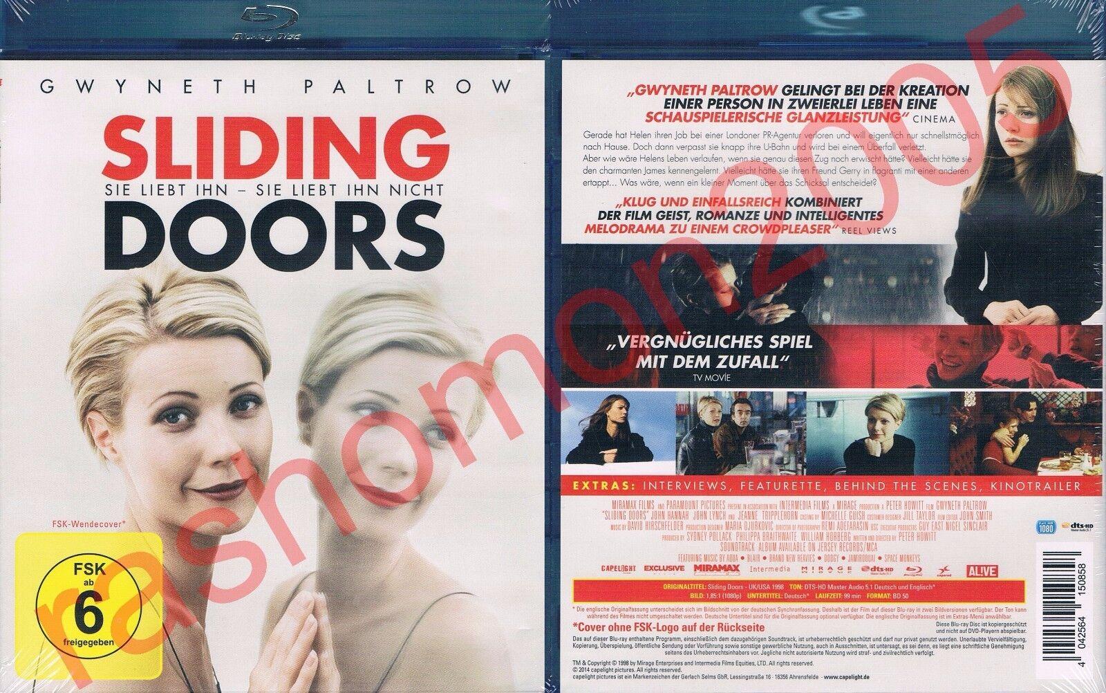 Sliding Doors 2014 Region B Bluray Blu Ray 1998 Dvd M6vg The Cheap