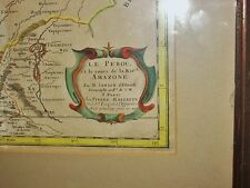 1675 Le Perou Map of the Amazon Peru South America Strong Color N. Sanson Rare