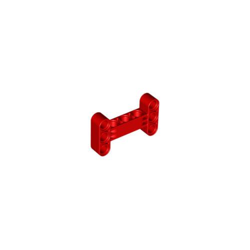 Lego ® 2 x Technic Liftarm 3 x 5 H-Shape Red New #14720