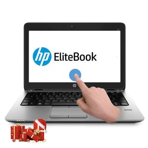 "HP EliteBook G2 12.5"" Touch Screen Ultrabook (Intel i5-5300U, 240GB SSD, 8GB RAM"