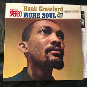 Hank-Crawford-MORE-SOUL-Atlantic-SD-1356-Stereo-High-Fidelity-LP-JAZZ-Record
