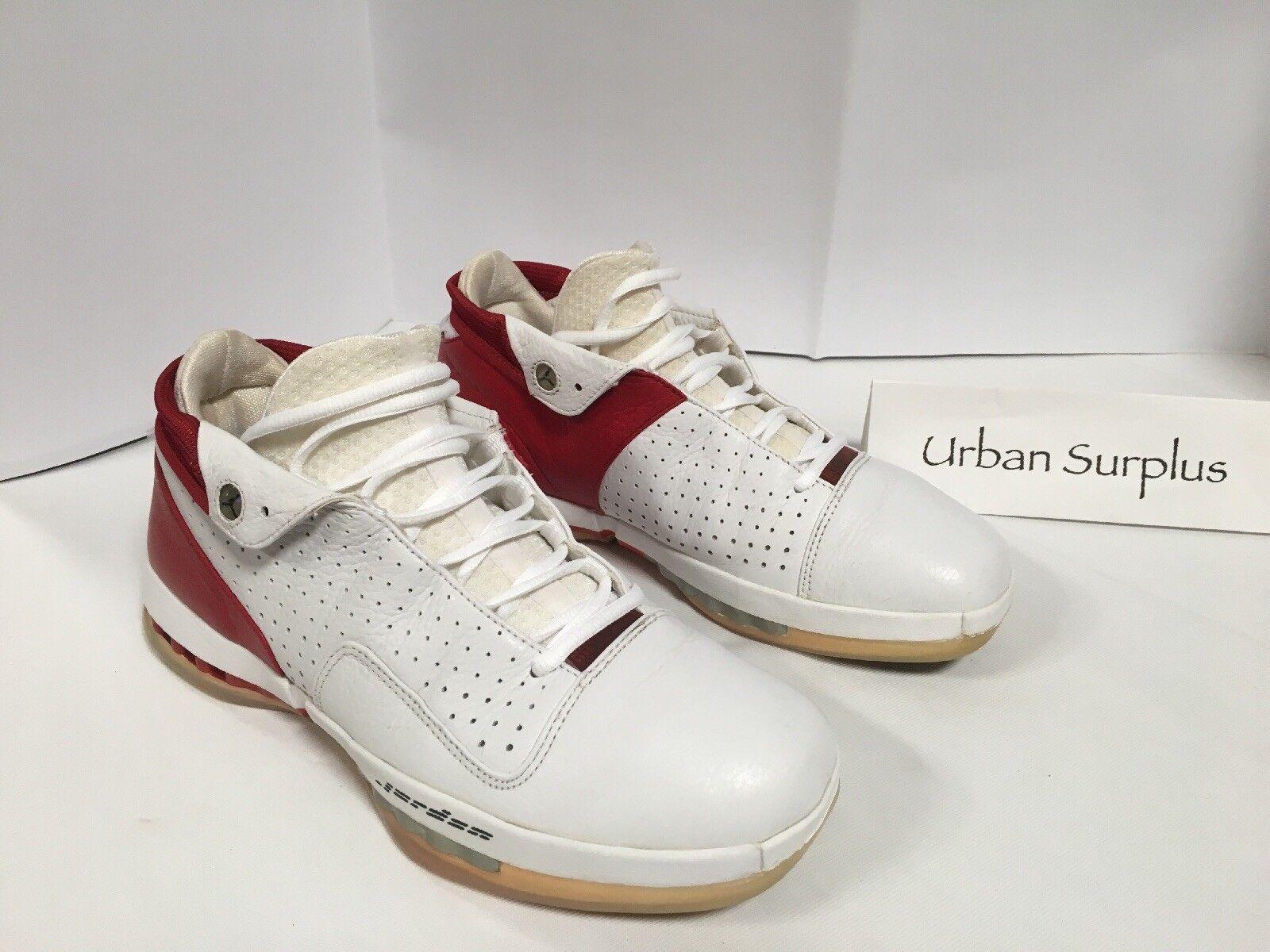 2001 Nike Air 136069-101-00 Jordan  Low Men's Red/White 136069-101-00 Air (Size 11) 21d611