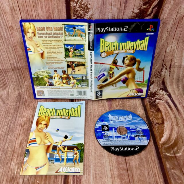 Sony Playstation 2 Ps2 Game BEACH VOLLEYBALL SUMMER HEAT Complete Rare pal