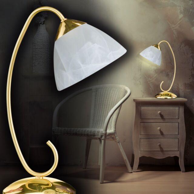 Tischleuchte Moderne Leseleuchte Messing Nachttischleuchte Lampe Tischlampe NEU