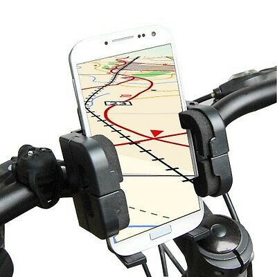 Universal Bike Bicycle MTB Handlebar Stand Mount Holder For Smart Cell Phone GPS