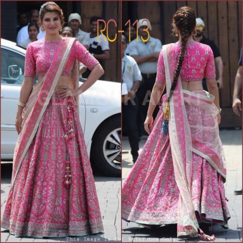 Choli Indian con lavoro Fancy Bollywood ricamo Lehenga a Desginer qqxwtz7BR