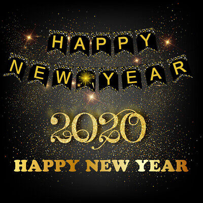 2020 Christmas Happy New Year Banner Photo Booth Props Eve ...