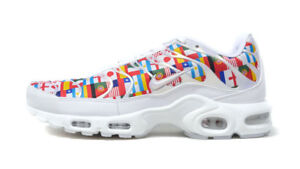 Details about Nike Air Max Plus NIC White Multi World Cup Flag Pack AO5117 100 Airmax