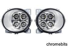2 X 4 LED DRL LIGHTS FOR SCANIA SERIES P/G/R/T 2004+ LEFT & RIDE SIDE E4 FOG